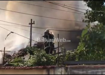 VIDEO/ Shtëllunga tymi