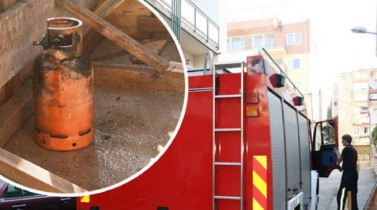 Video/ Shpërthen bombola e gazit në një byrektore në Elbasan