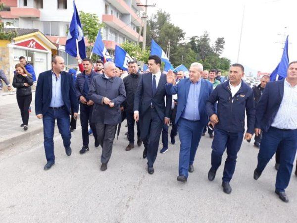 FOTO/ Tritan Shehu: Falënderoj Gjirokastrën për mbështetjen që më dha sot