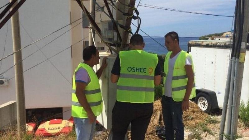 Punimet në rrjetin elektrik në Tiranë