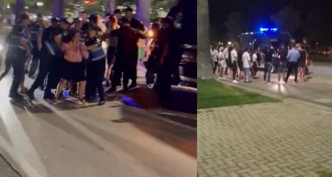 Protesta e mbrëmjes në Vlorë/ Bare e restorante mbyllur