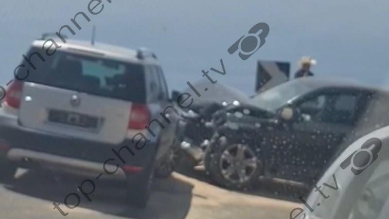 Aksidenti në Llogora shkakton trafik të rënduar në rrugë