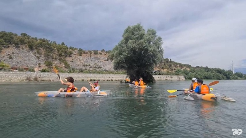 Rrugëtim me kanoe në liqen dhe Bunë/ Shkodër