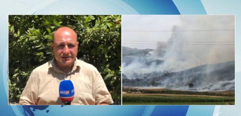 Vatrat e zjarreve në Vlorë