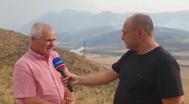 Kryebashkiaku i Selenicës për 'News24': Sot ka qenë një nga ditët më të vështira. Zjarret i vënë barinjtë