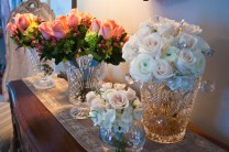 Bride and Bridal Party Bouquets