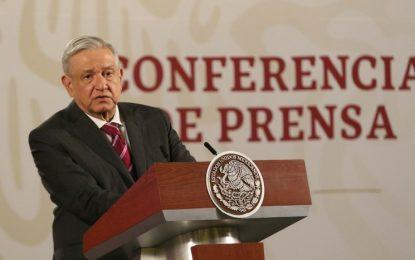 El presidente Andrés Manuel López Obrador durante su conferencia matutina en Palacio Nacional, en la Ciudad de México. Foto: Cuartoscuro