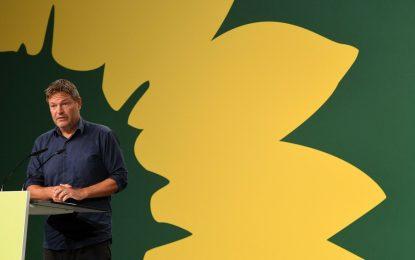 Robert Habeck, codirigente del Partido Verde de Alemania. Foto: Afp