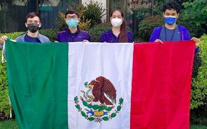 Los jóvenes participaron de manera virtual en una competencia organizada por Costa Rica. Foto tomada de redes sociales