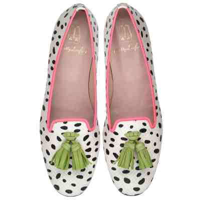 ballerina-imprimé animal-Faye animal print with green and fuchsia $275