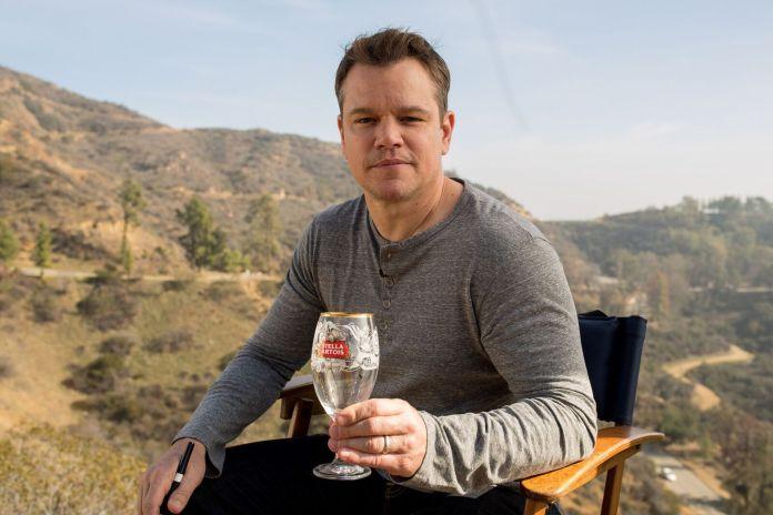 Matt Damon-stella artois-payez un verre