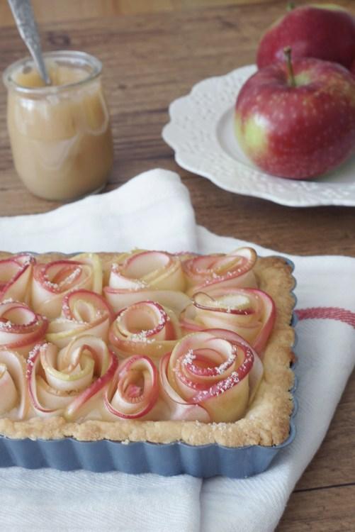 Tarte pommes roses- Portrait