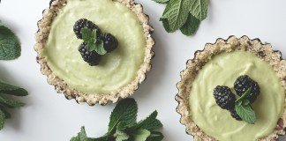 Tarte à la lime et avocat, cover