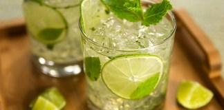 Cocktail mojito, rhum