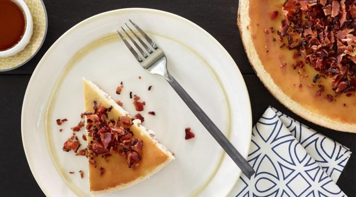 gâteau fromage, érable, bacon duBreton