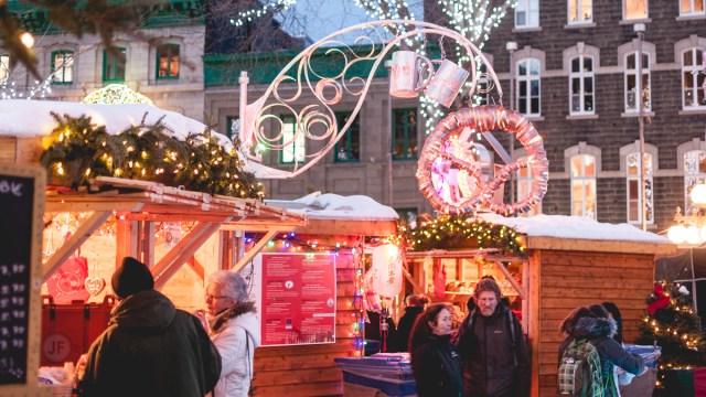 Marché de Noël Allemand de Québec