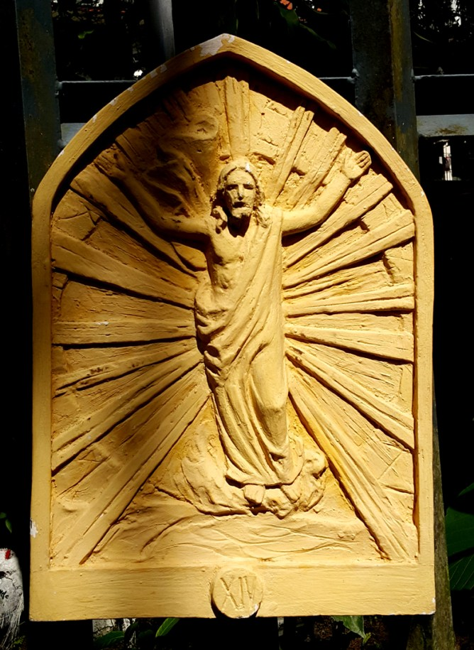 Loyola House of Studies, Stations of the Cross XIV: Jesus is Resurrected