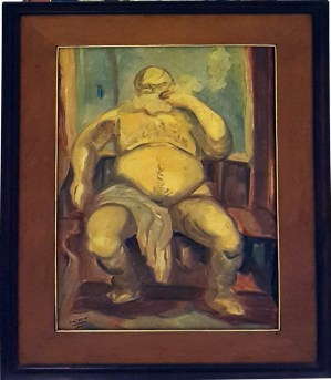 1984 Danilo Dalena - Old Man (Quiapo Series)
