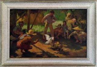 1943 Fernando Amorsolo – Tupada