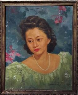 1947 Fernando Amorsolo – Linda