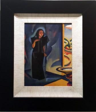 "1947 Jesus ""Jess"" Encarnacion Ayco (1922-1982) - Young Widow by the Church Door"
