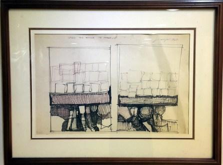 1967 Jose Tanig Joya Jr. - Study for Homage to Vasarely