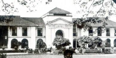 School of Fine Arts building along Padre Faura Street, Manila