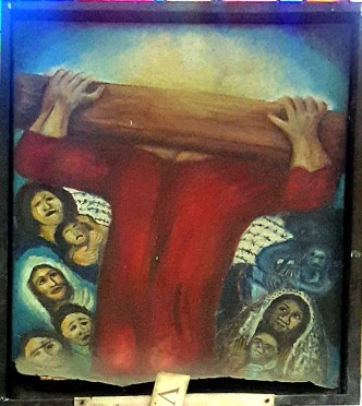 Sieger Köder - Jesus meets the Women of Jerusalem