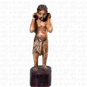 """Wooden Statue """"Nattami"""""""