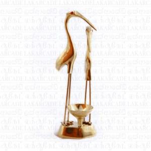 Brass Crane Stand