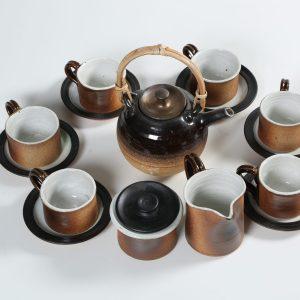 HANDMADE STONEWARE TEA SETS (ACTS)