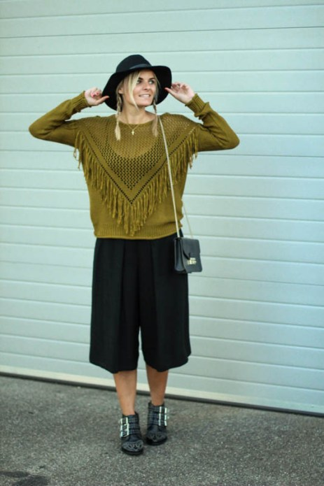 culottes-pullover-hut-herbstoutfit