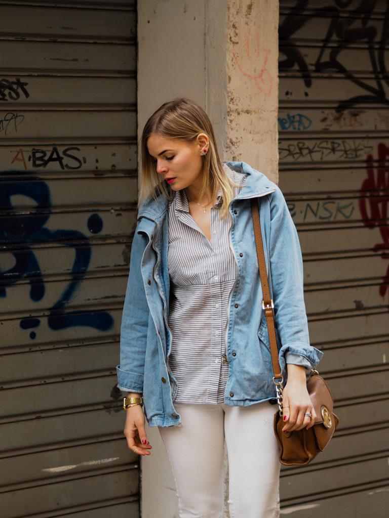 Jeansjacke, Streetstyle