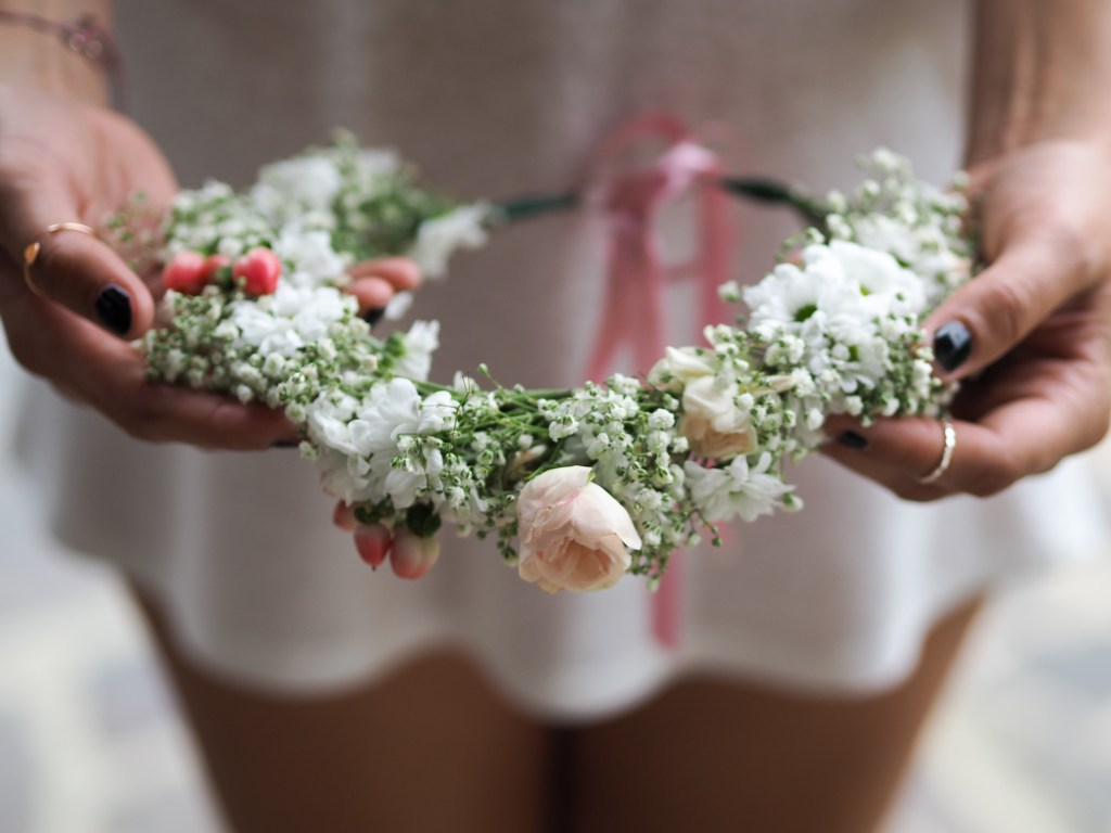 DIY Blumenkränze – Flowers Love Bridal Shower