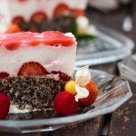 Limetten Beeren Joghurt Kuchen, Low Carb, Foodblogger, Rezept, Lakatyfox