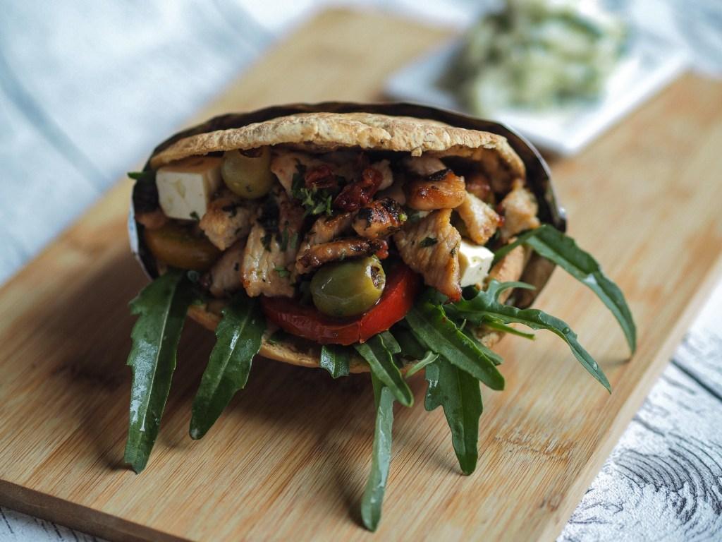 7 Geschmackswelten –  Griechische Pita mit Tzatziki