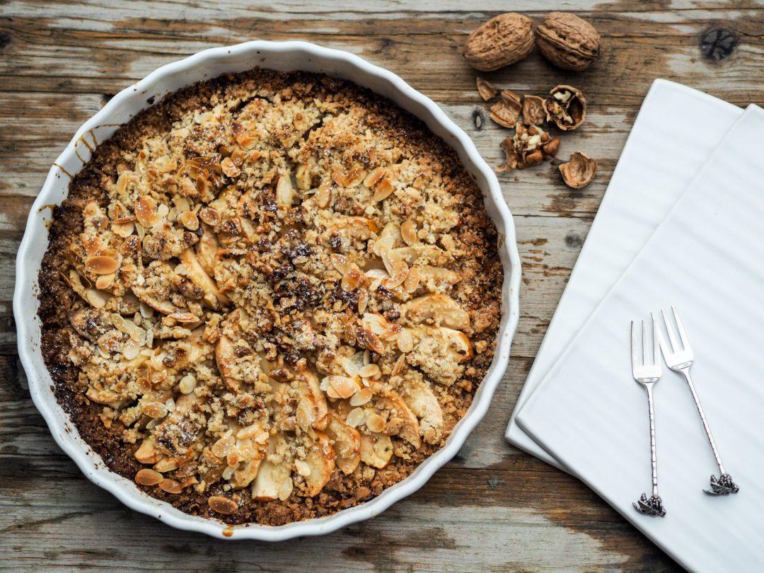 Apfel Birnen Crumble – ein herbstliches Rezept