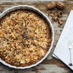 Apfel Birnen Crumble, Cake, Rezept, Herbstrezept, Nachkochen, Backen, Süss, Dessert, Foodblogger,