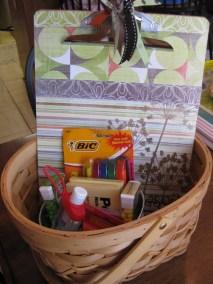 Ms. Thomason's basket