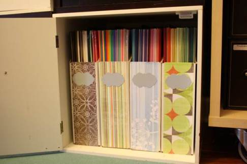 Close-up of Cardstock