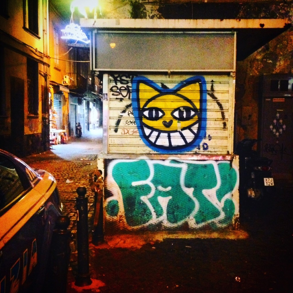 Neapel Chat Streetart