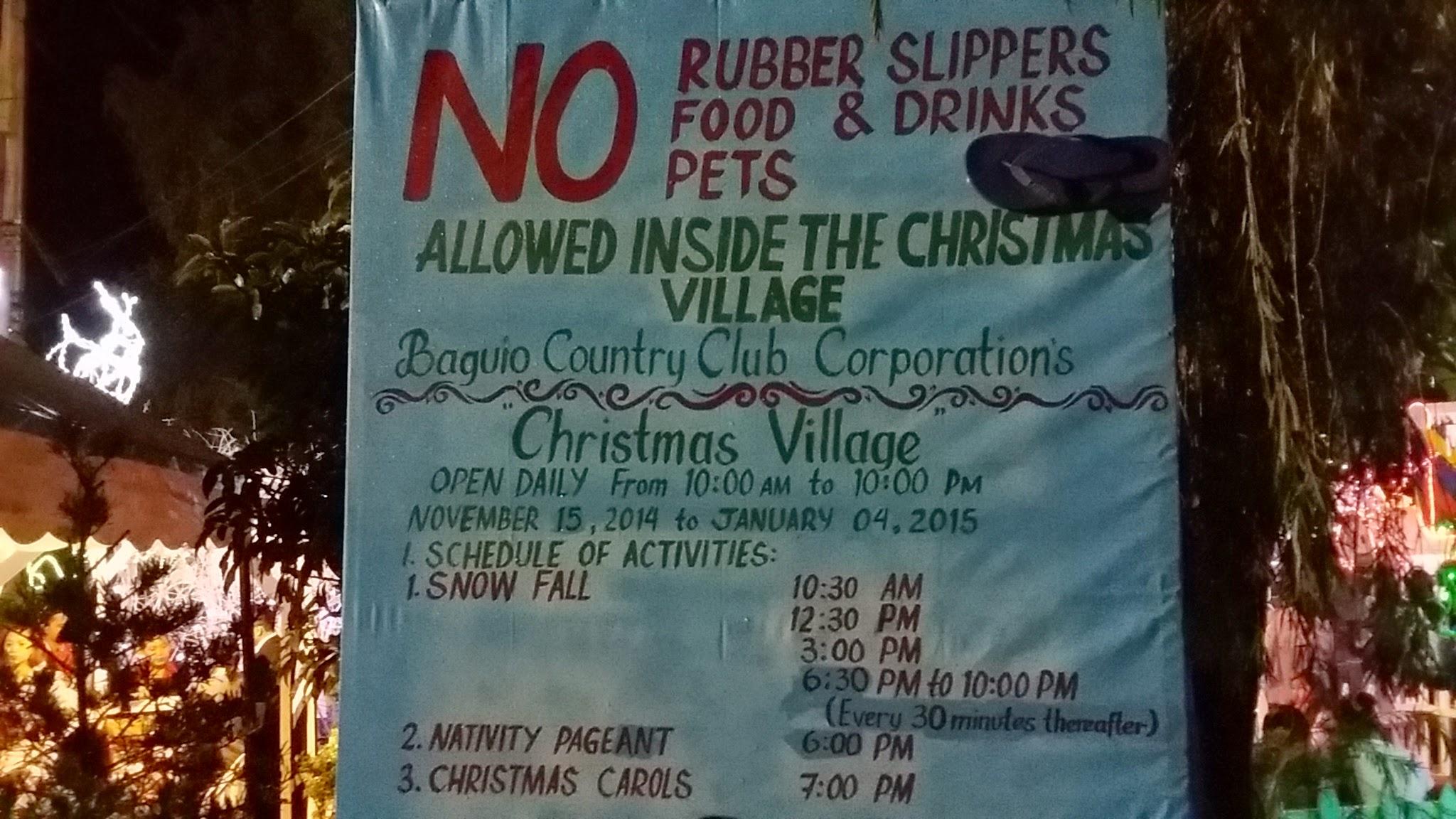 Christmas Village Baguio.Christmas Village Bcc 2 Lakbay Baguio