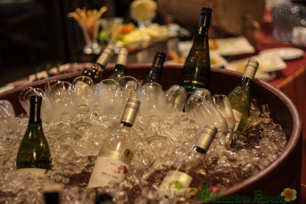 A different kind of Buffet, its a Wine Buffet
