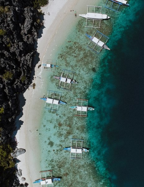 Island Hopping in the Philippines photo by Nachelle Nocom via Unsplash