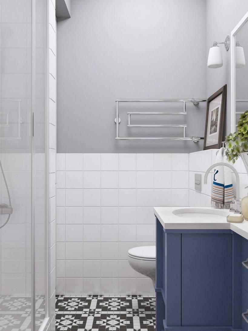 Как быть комфортно и стильно в узкой квартире всего 28м2 - компактной маленькой квартире со всеми важными функциями, легкая и практичная в скандинавском стиле