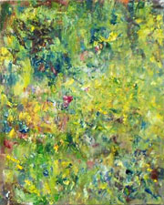 Tryptich 3 - Impressionist Art by Laurette Carroll