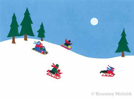 A Great Sledding Hill by Rosemary McGuirk
