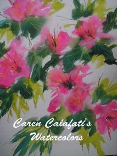 Hibiscus by Caren Calafati