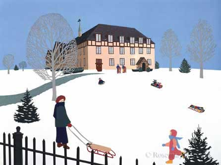 Winter at Bassett by Rosemary McGuirk