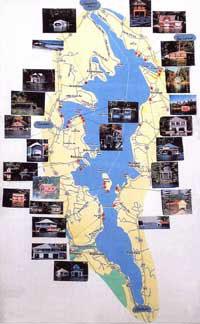 Lake Sunapee Boathouse Map